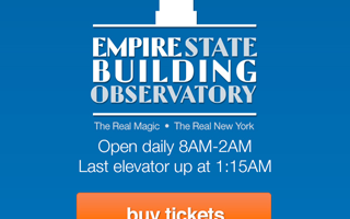 Empire State Building Observation Deck